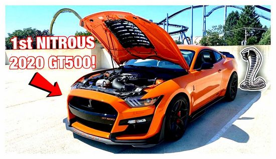 ford, mustang, shelby, gt500, 2020